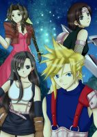 Final Fantasy 7 by Artemisumi