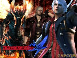 Devil May Cry 4 Wallpaper by MzJekyl