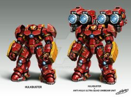 HULK BUSTER NEW WEAPON SYSTEM by stormjang