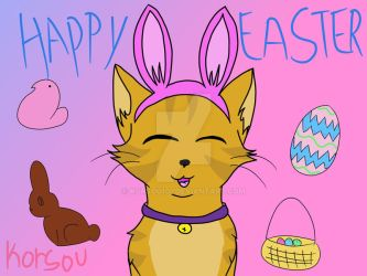 Happy easter by korsou101