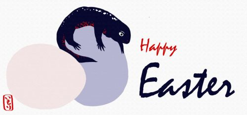 Crincle wishes a Happy Easter! - Imori Productions by MorisatoMegumi