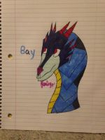 Bay Headshot by FlamingGatorGirl
