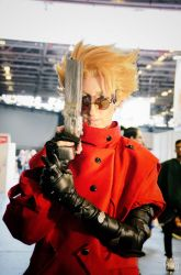 Vash the Stampede-Trigun (cosplay) by PyodeKantra