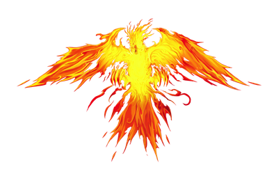 Winged Dragon of Ra Immortal Phoenix Full Artwork by XrosM