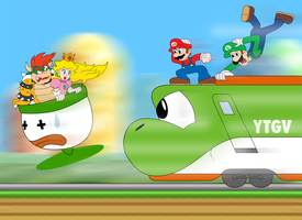 Super Mario High Speed by ZeFrenchM