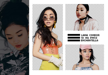LANA CONDOR [PNG PACK #1] by enchantella