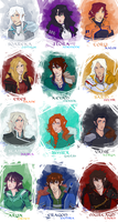 After Inheritance Characters by ElizaLento