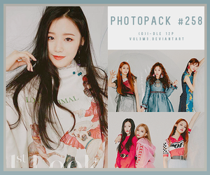 #258 PHOTOPACK-(G)I-DLE by vul3m3