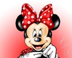 Minnie Mouse by cherry12