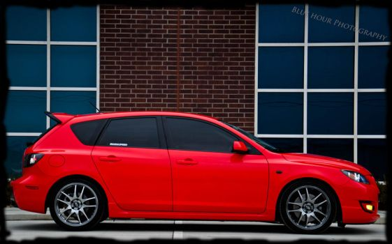 My 2008.5 Mazdaspeed 3 by BlueHourPhoto