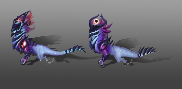 Darkstar Aosol Concepts by cynder-lany