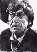 Patrick Troughton as the Second Doctor Who by Kate-Murray
