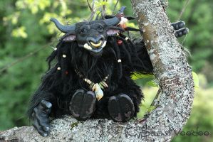 Bron the tauren shaman doll by BeastVoodoo