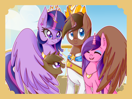 The Family of Harmony[Gift] by PaperKoalas