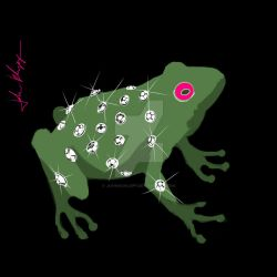 Janhueary 26 - Bedazzled Frog by JohnKohlepp
