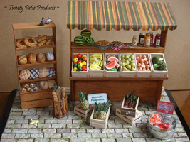 Farmer's Market (1:12 Scale) by birdielover