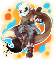 Ink Sans by thegreatrouge
