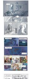 Nixed graphic novel project - introductory pages by Pika-la-Cynique