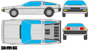 delorean by bagera3005