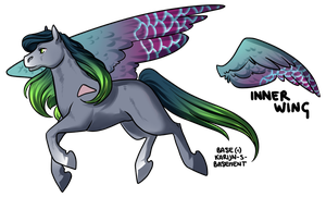 Pegasus Adoptable [CLOSED] by Blithe-Adopts