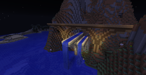 Minecraft Bridge and Aqueduct by drphill2010