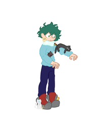 boy accidentally adopts 6 kittens by FloatingOnAFeeling