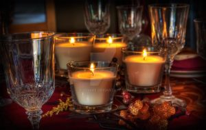 Holiday Candles by tjohare