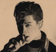 Alex Turner - No. 1 by electrichyena