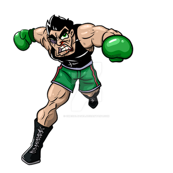 Little Mac by omegalbagel