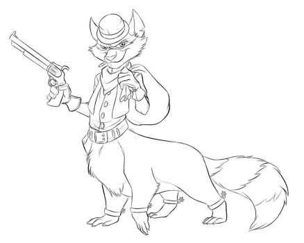 Tennessee Kid Cooper Taur Commission by dragonheart07