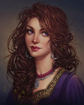 Commission: Esmee by dimary