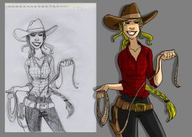 Cowgirl by DitaDiPolvere