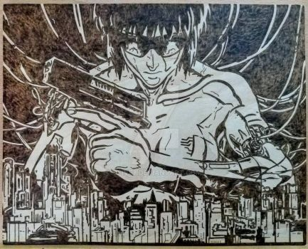 Ghost in the Shell by 9FIVE7