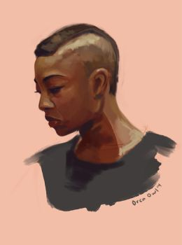 Poussey Speedpaint by OrcaOwl