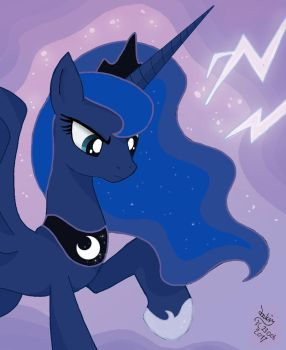 MLP FIM New looking Luna by Joakaha