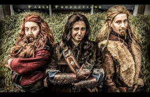 Gloin, Kili and Fili by KellyJane