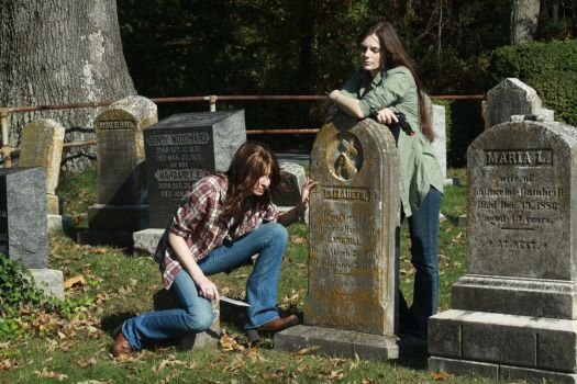 Investigation at the Graveyard by lily-draken