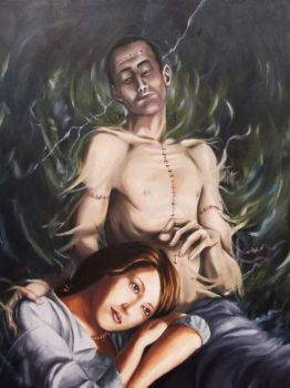 mary shelley frankenstein by turrul2000