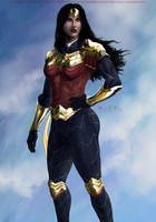 Wonder Woman redesign by BryanFR