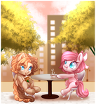 Cafe Talk (YCH Complete 1) by Naughty-Savage