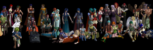 Fire Emblem Group in Sims 2 by Prince-Stephen