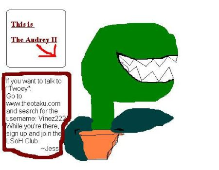 Join TheO and meet Audrey II by SubukuNoJess