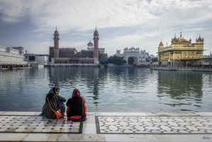 Incredible India - at the Golden Temple by Rikitza