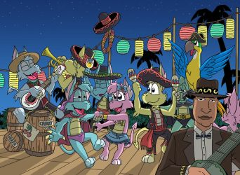 Sombrero party by sprucehammer