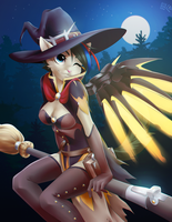 Witch Mercy by Dannyckoo