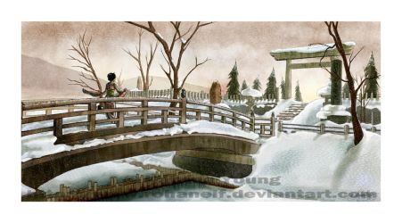 Japan-scape by RohanElf