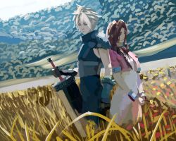 Cloud and Aeris by kilenator