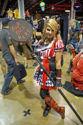 Harley Quinn Comic con Chicago 2015 by ratdog420
