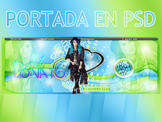 Portada en PSD #01 by FriendshipAndLove