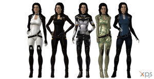 ME3 Miranda Lawson (+ extra outfits) for XPS by Just-Jasper